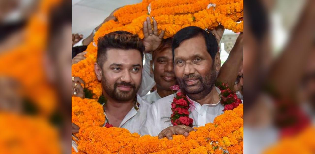 Tactical Retreat Ram Vilas Paswan Puts Son In Driving Seat For Ljp S Bihar Poll Strategy Deccan Herald