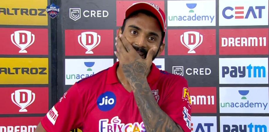 IPL 2020: KL Rahul swearing in Kannada, caught by stump mic | Deccan Herald