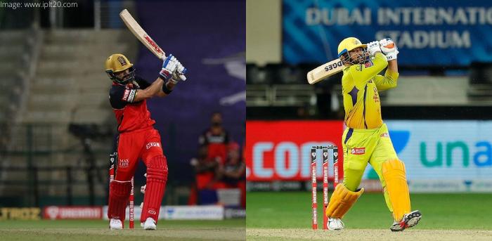 Royal Challengers Bangalore vs Chennai Super Kings, IPL 2020 44th Match Virart Kohli and MS Dhoni  1603632760.'