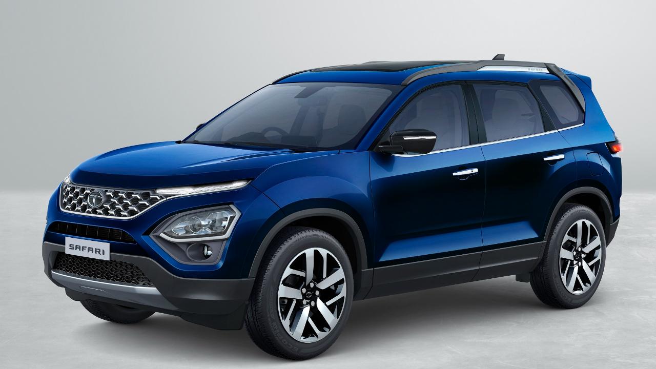 Tata Motors unveils Safari sports utility vehicle