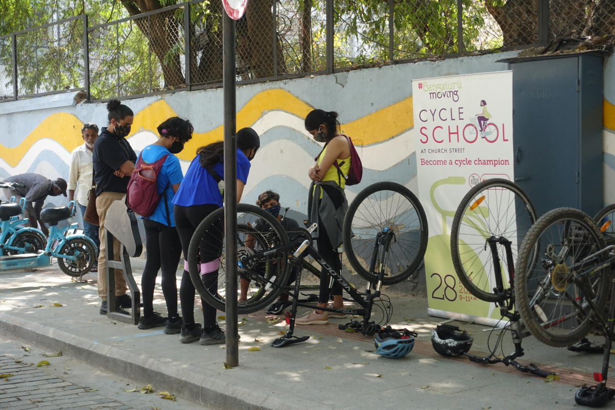 Empowering Bengaluru's women to cycle safely