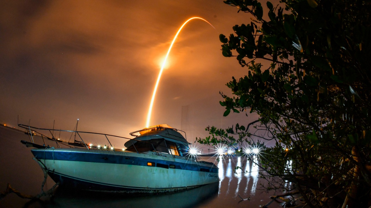 Light show over US skies that are likely to see SpaceX debris re-enter the atmosphere