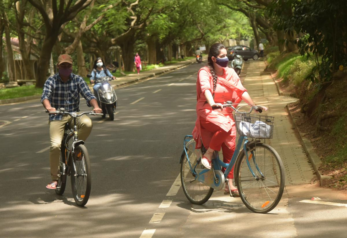 deccanherald.com - Vivek Phadnis - Bengalureans return to cycling in a big way