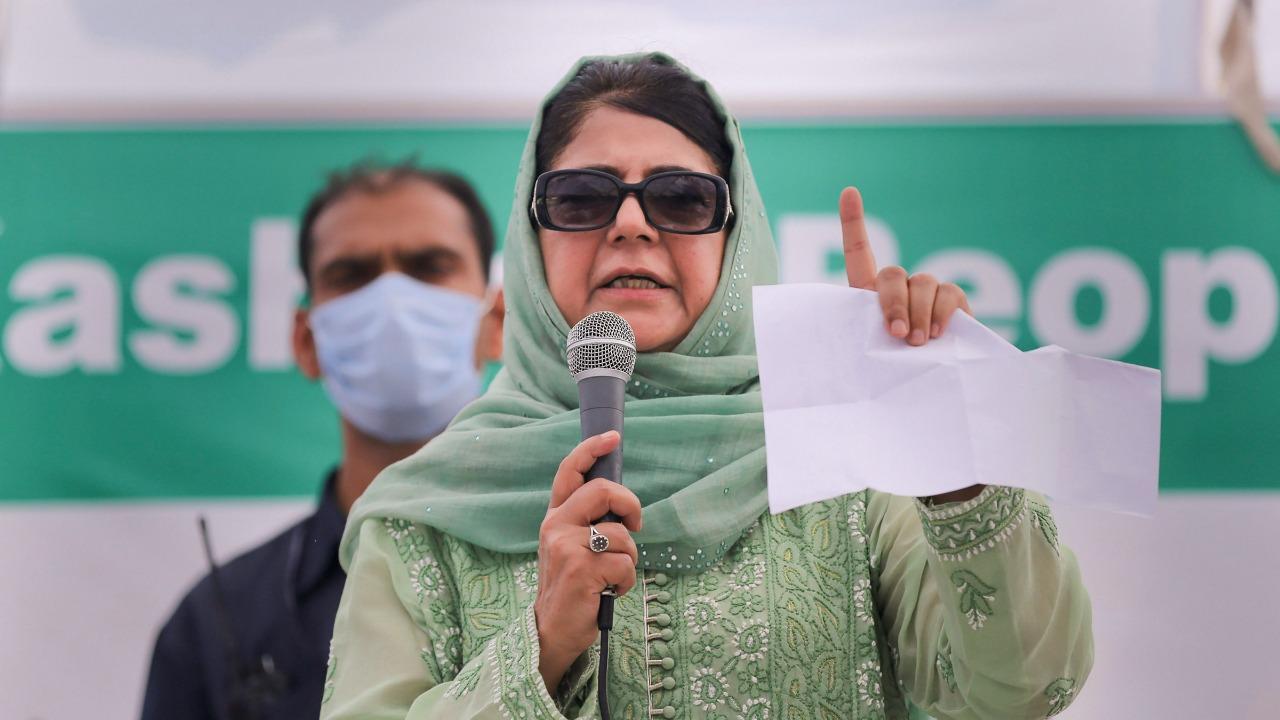 BJP uses Taliban, Afghanistan, Pakistan to garner votes: Mehbooba Mufti