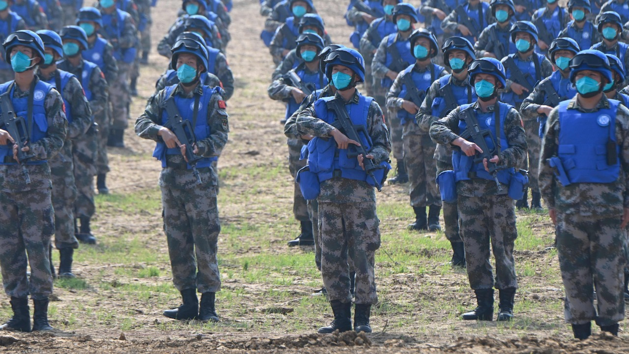 Chinese PLA carries out night battle drill at 16,000 feet height near Indian border