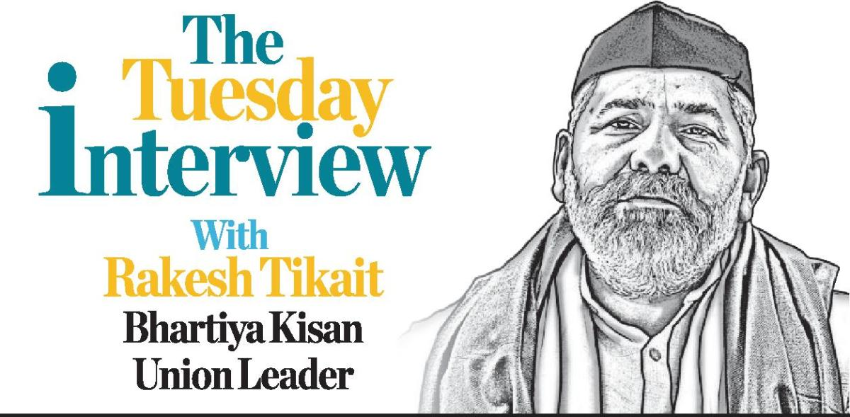 Farmers are united, BJP is trying to divide them into big and small: Rakesh Tikait