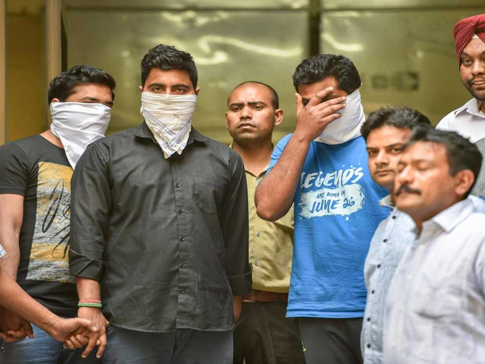Earlier, with the arrest of three men, including two teachers of a private school in outer Delhi's Bawana, police had claimed on April 1 to have busted a module in which the teachers had shared WhatsApp images of the economics paper one-and-a-half hours prior to the exam. PTI file photo