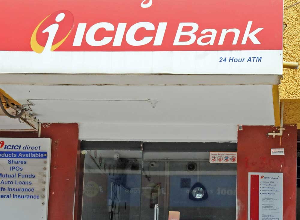 Rating agency Fitch said in its report on ICICI Bank recently that investigations over allegations regarding loans extended to Videocon Group raises questions over the bank's governance and creates reputational risks. DH file photo