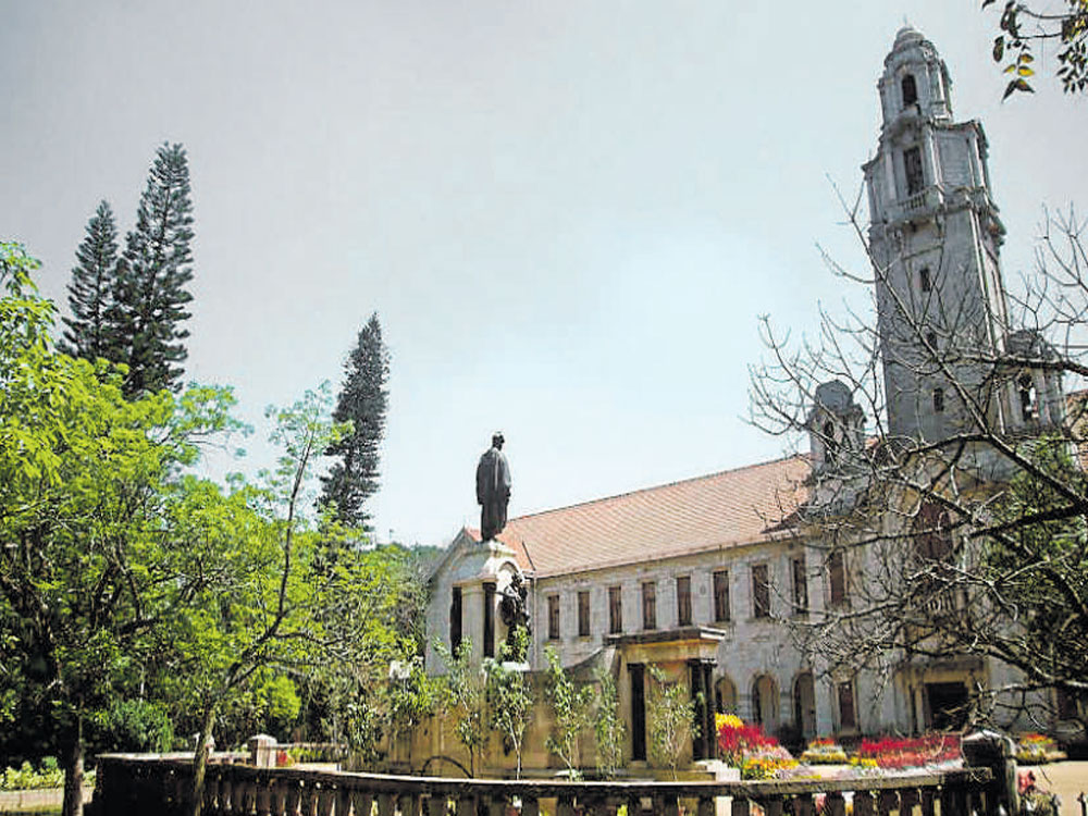In photo: IISC campus. DH photo.