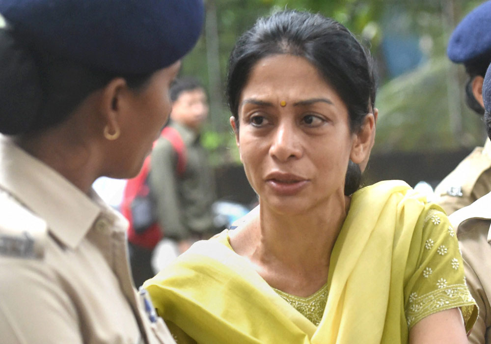 Mukerjea, 46, who was lodged in Byculla jail in South Mumbai under judicial custody, has been admitted in the Critical Care Unit (CCU) of the state-run hospital. PTI file photo