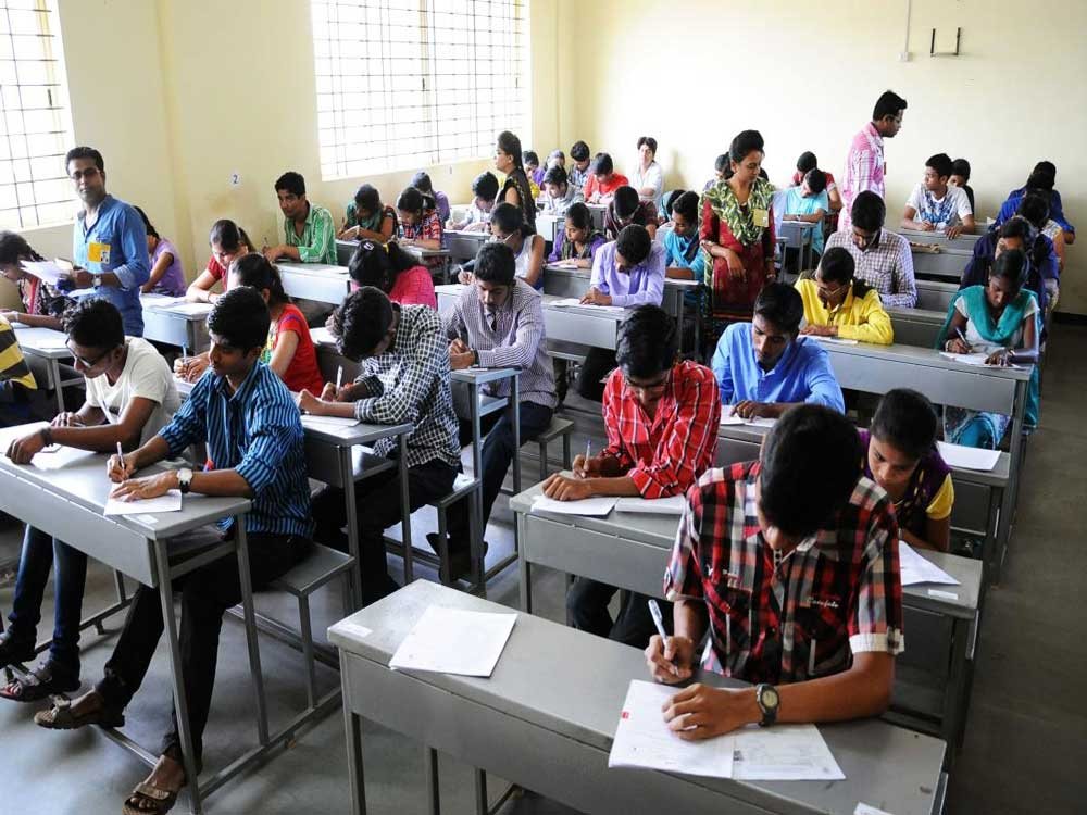 Students who took the exam said that the difficulty level of the exam was same as last year. Representative image.
