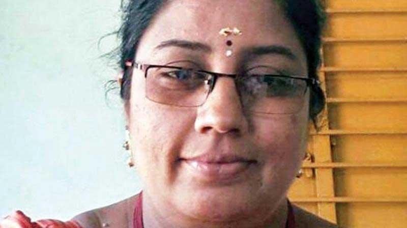 Nirmala Devi. Image Courtesy: Twitter