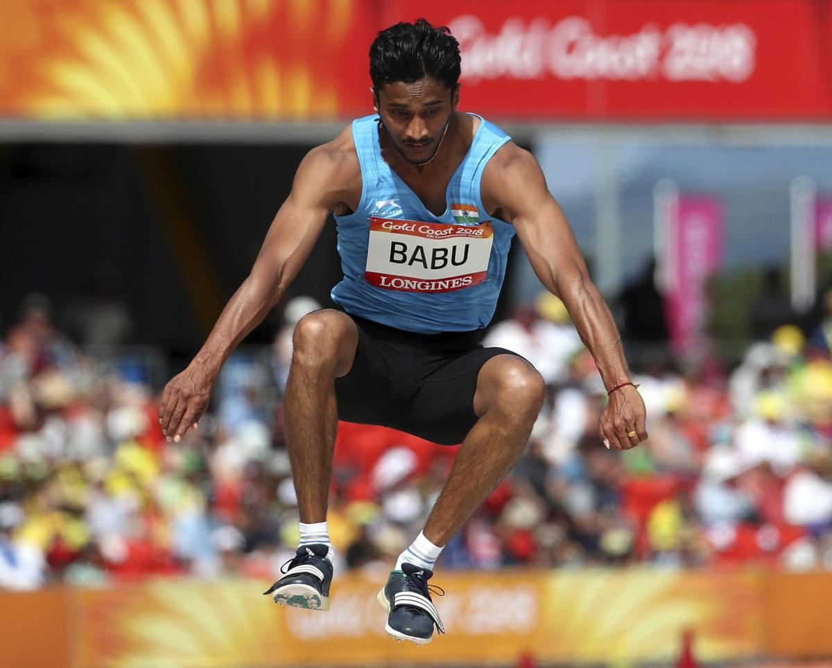 Babu and his compatriot, race walker Irfan Kolothum Thodii had been banned from the Games and ordered to return home after being found with needles at the athletes village. AP/PTI file photo.