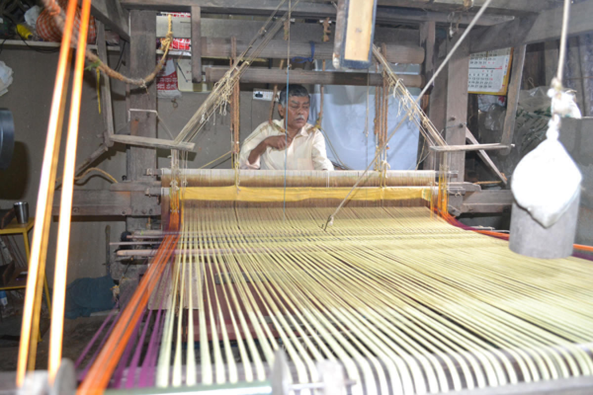 Weaves From The Temple Town Deccan Herald