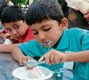 Ice creams no challenge for kids