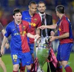 Barcelona beat Manchester United by convincing margin