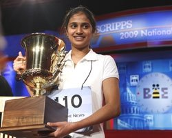 Indian-American girl wins US Spelling Bee Championship