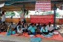 Guptashettyhalli residents' dharna enters 7th day