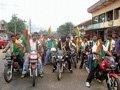 Bike rally seeking Cauvery taluk