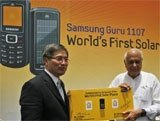 Samsung launches low-cost solar-powered phone