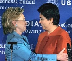 Clinton vows 'dramatic expansion' of India-US ties