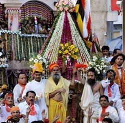 Lord Jagannath Rath Yatra begins