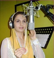 Now, Monica Bedi takes to devotional singing