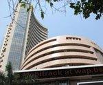 Sensex falls over 150 points after weak global cues