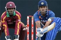 Dhoni helps India take 2-1 lead over Windies