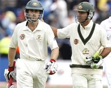 Ton-up Katich, Ponting lead Aussie reply