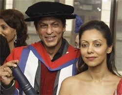 Will use Doctorate to further cause of under-privileged: SRK