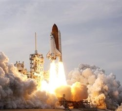 Space shuttle Endeavour blasts off from Cape Canaveral