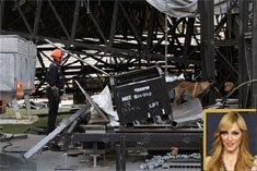 Madonna stage collapse kills two workers