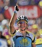 Brilliant Contador pockets 15th stage