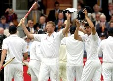 Inspired England record first Ashes win at Lord's in 75 years