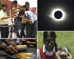 Excitement boils over in Bihar's 'eclipse village'
