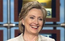 Hillary Clinton hopes to see a woman president