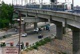 Cracks on metro tracks connecting Noida
