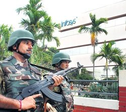 Infosys campus in Bangalore gets CISF cover