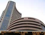 Sensex back in negative zone after breaching 16k level