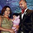 Rakhi, fiance to play parents on TV show