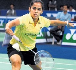 On-song Saina, Chetan storm into last sixteen