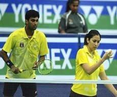 World Badminton: Jwala-Diju lose in mixed doubles quarters