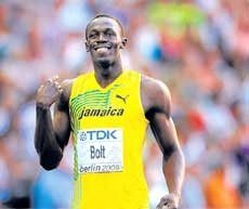 Usain bolts to effortless win