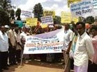 Water scarcity: Villagers stage dharna