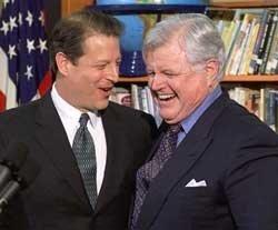 US Senator Edward  Kennedy dies of brain cancer
