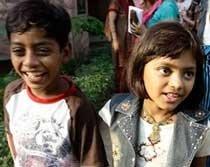 Slumdog' child stars to act with Anthony Hopkins