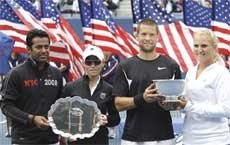 Paes-Cara lose mixed doubles final to American wild cards