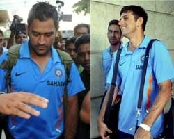 Indian team leaves for ICC Champions Trophy in South Africa