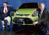 Ford unveils its small car Figo
